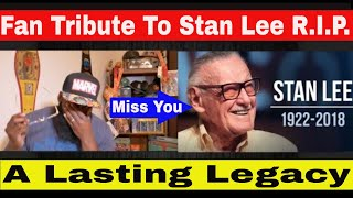 "RIP Stan Lee Tribute | Stan Lee Cameos and Fan Tribute | Stan "" The Man"" Lee And His Lasting Legacy"