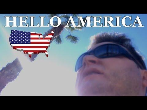 Хэллоу, Америка! I'm in California