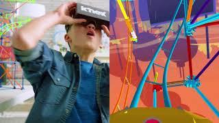 New K Nex Thrill Rides Plus Ride It App Ride K Nex Roller Coasters In Vr Youtube