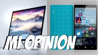 Surface Studio, Book y Phone - Mi Opinion