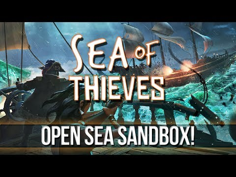 SEA of THIEVES - Open Sea Sandbox!