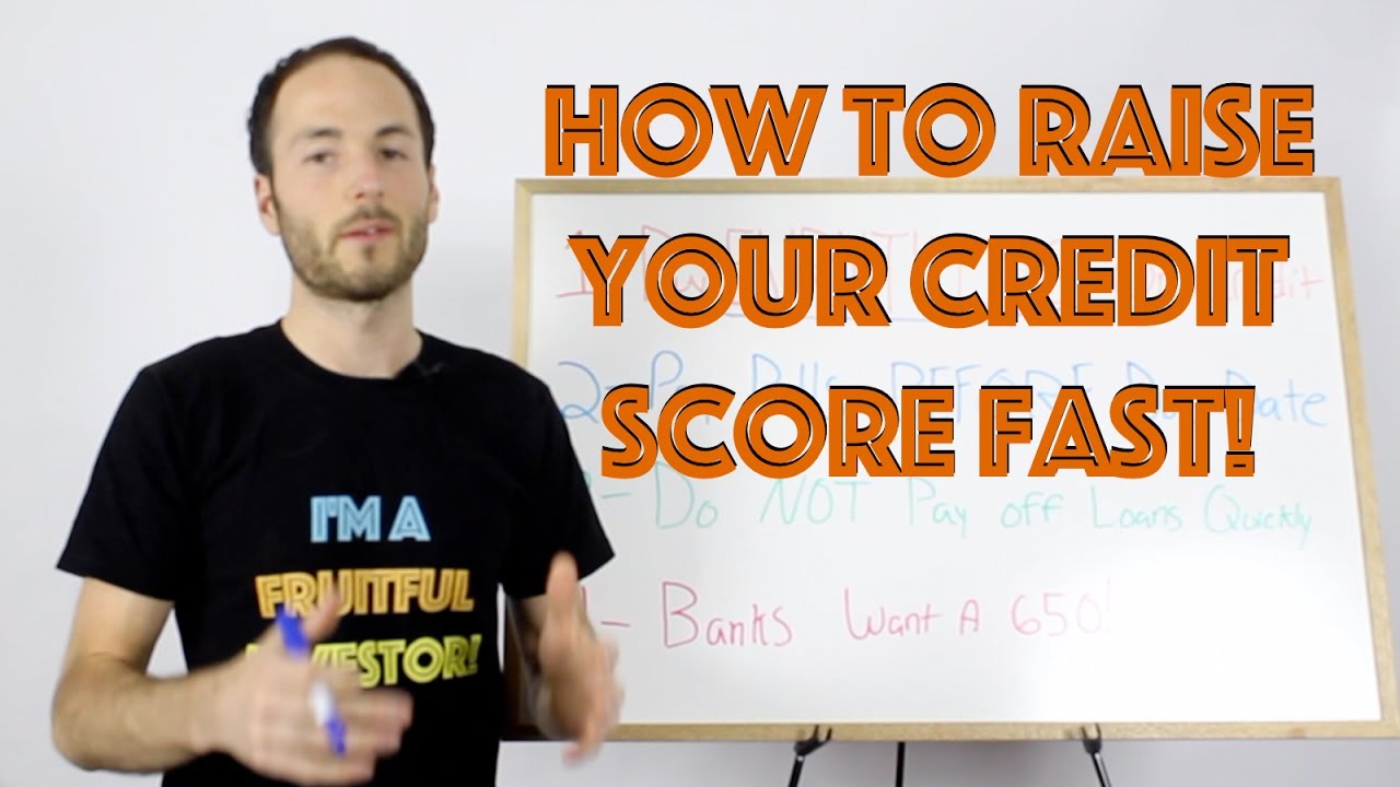 How To Raise Your Credit Score Fast  Credit Repair