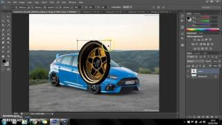 How To Change Wheels On A Car Tutorial Adobe Photoshop CS6