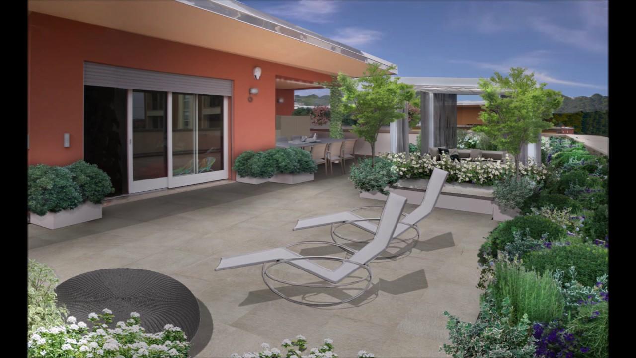 Progetto terrazzo a Brescia - YouTube