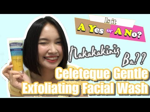 Nakakakinis Ba? | Celeteque Gentle Exfoliating Facial Wash | Is It A Yes or A No? | Ayan PH
