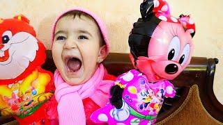 Hasouna crash celina toys - حسونة يدمر العاب سيلينا