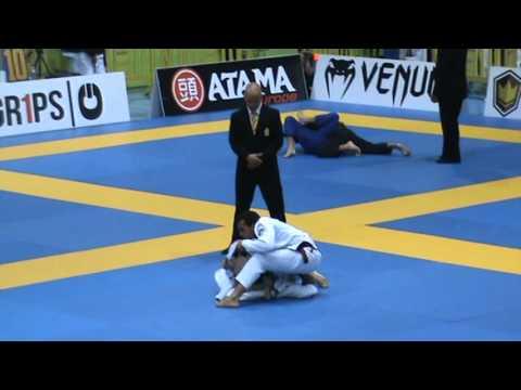 Marcio André vs Isaac Dooderlein European ibjjf 2016