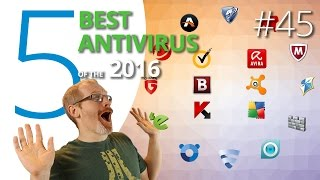 2016's 5 best antivirus suites