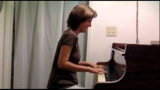 Rachel Flowers - Superwoman (Where Were You When I Needed You) - (Stevie Wonder) - solo piano