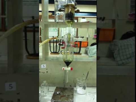 vacuum liquid chromatography