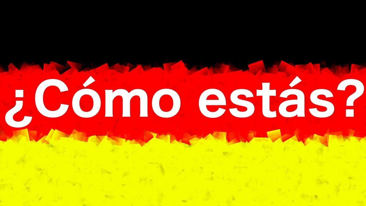 10 Frases En Aleman 7 Como Estas Que Tal En Aleman Youtube