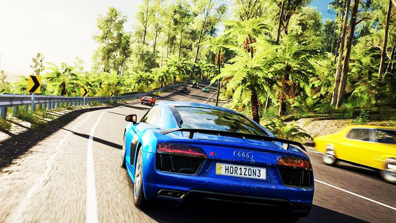 Top 7 Ultra Realistic Graphics Racing Games 2018 Ps4 Xbox Pc Youtube