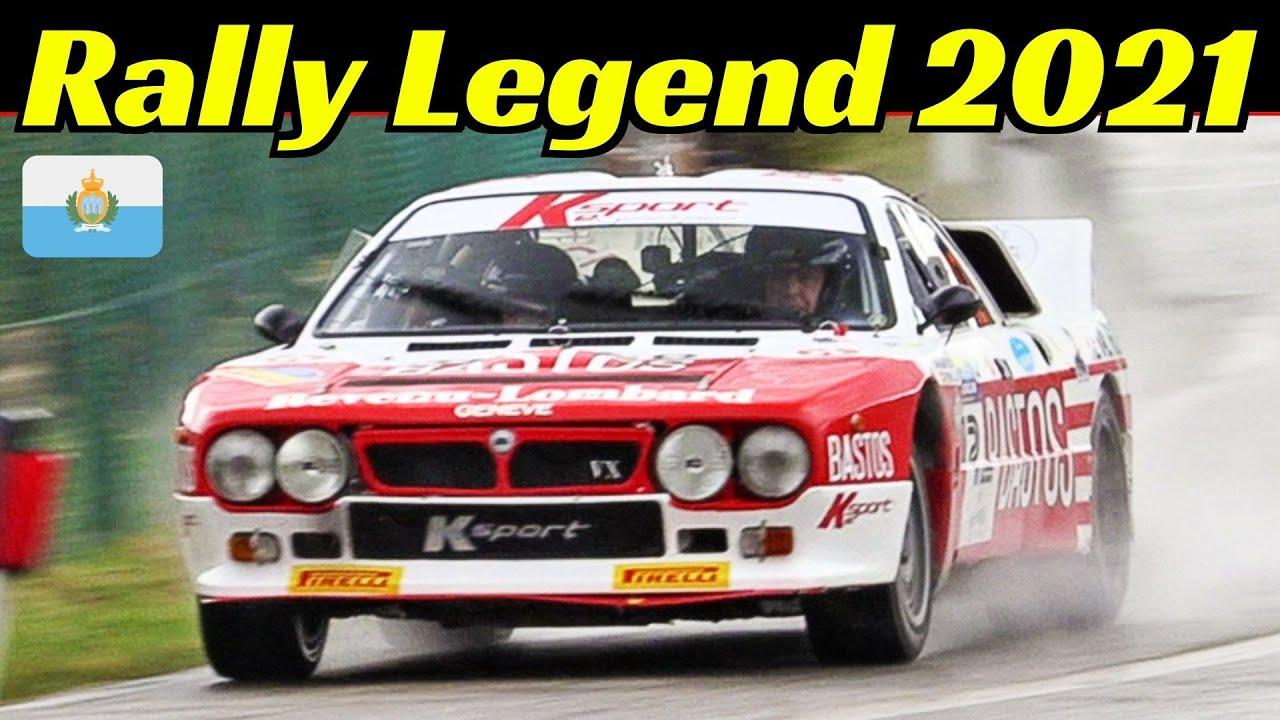 Rally Legend 2021 San Marino - Day 2 - Saturday/Sabato - P.S. La Casa - Galli, Biasion, Diana & More