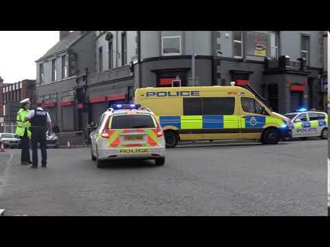 *Rare*Merseyside Police / Transporting Air Ambulance Crew