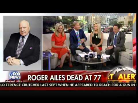 FOX News Host Janice Dean Weeps on Air after Roger Ailes Death