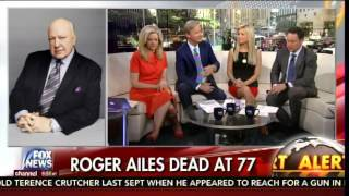 FOX News Host Janice Dean Weeps on Air after Roger Ailes Death
