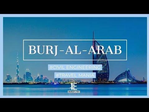 Burj-al-arab | Engineering Structures | Amazing Engineering | Traveling Dubai | EngineersPort  #1