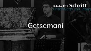 Getsemani - Karfreitag - Matthäus 26,36-46 - Maiko Müller