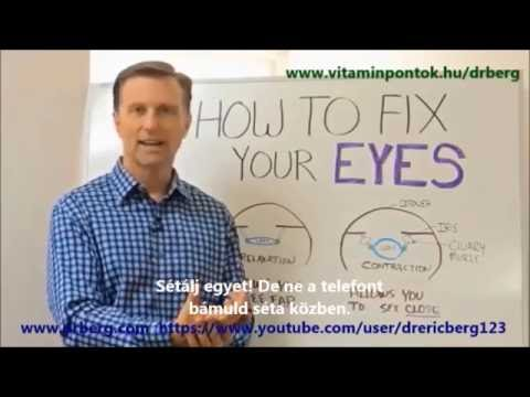 Dr. Berg  Egy egyszerű módszer a látás javítására - YouTube e48530b4b7