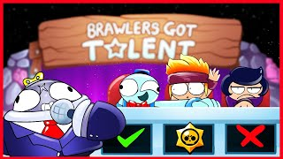 BRAWL STARS ANIMATION - BRAWLERS GOT TALENT 100.000$