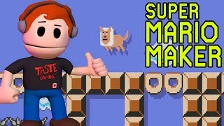 OMG MOLLY IS IN A LEVEL | SUPER MARIO MAKER - MORE VIEWER MADE LEVELS THAT I CAN SUCK AT PLAYING!!
