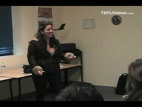 Teaching Action Words with Charades - ESL, EFL, TEFL