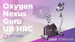Велотренажер Oxygen Nexus Guru UB HRC
