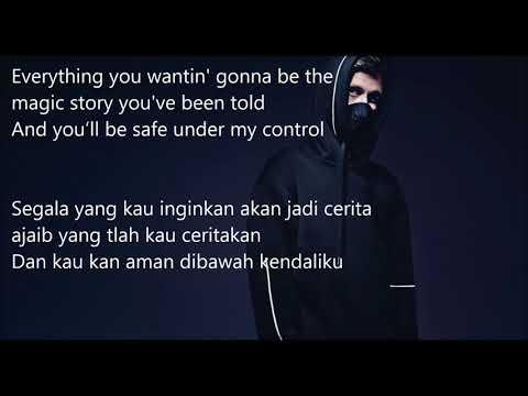 ALAN WALKER - LILY// LYRICS DAN TERJEMAHAN LIRIK INDONESIA