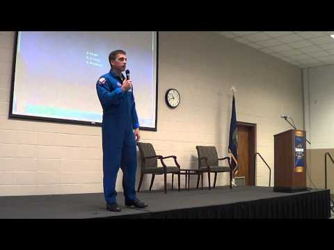 Astronaut Chris Cassidy Speaks at Somerset Community College 3-19-2015 Part 2
