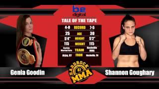 Hardrock MMA 87 Fight 11 Genia Goodin vs Shannon Goughary 115 Ammy Female