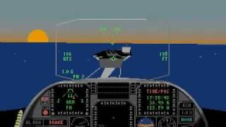 [PC DOS] Jetfighter 2 - Missile Attack