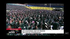 Dr Winnie Mashaba Sings at National day of Prayer