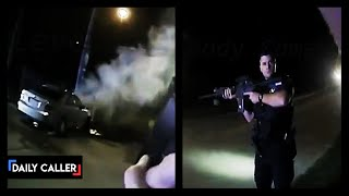 BODYCAM: Car Chase Ends In Race To Save Man After His Car Starts On Fire