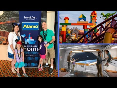 ALAMO Family Breakfast & Star Wars NEWS at Disney SMMC session | beingmommywithstyle