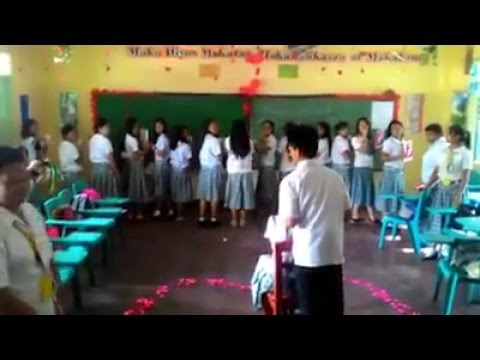 Surprise Proposal (BNHS Student's, September 9, 2015)