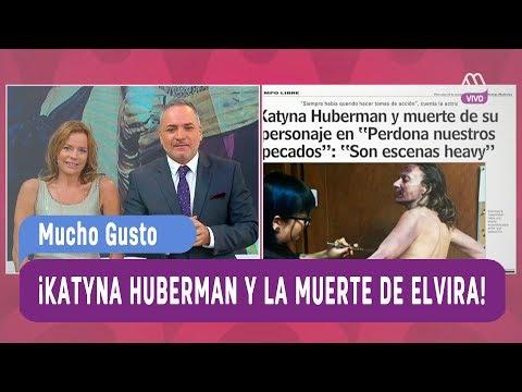 ¡Katyna Huberman y la muerte de Elvira Undurraga! - Mucho Gusto 2017