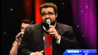 Home Free Vocal Band - Mary Did You Know on WGN - Acappella