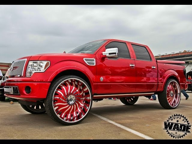 Stuntfest 2k14 : Candy F150 on 32 Amani Forged Wheels