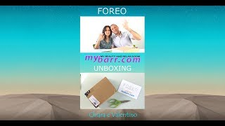 Foreo UFO video unboxing mybarr