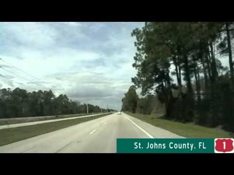 US Highway 1 Northbound - St Augustine, FL To Jacksonville, FL