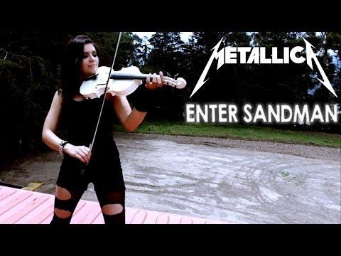 Enter Sandman (METALLICA) 💿 en Violín Eléctrico!! (CON SOLOS)