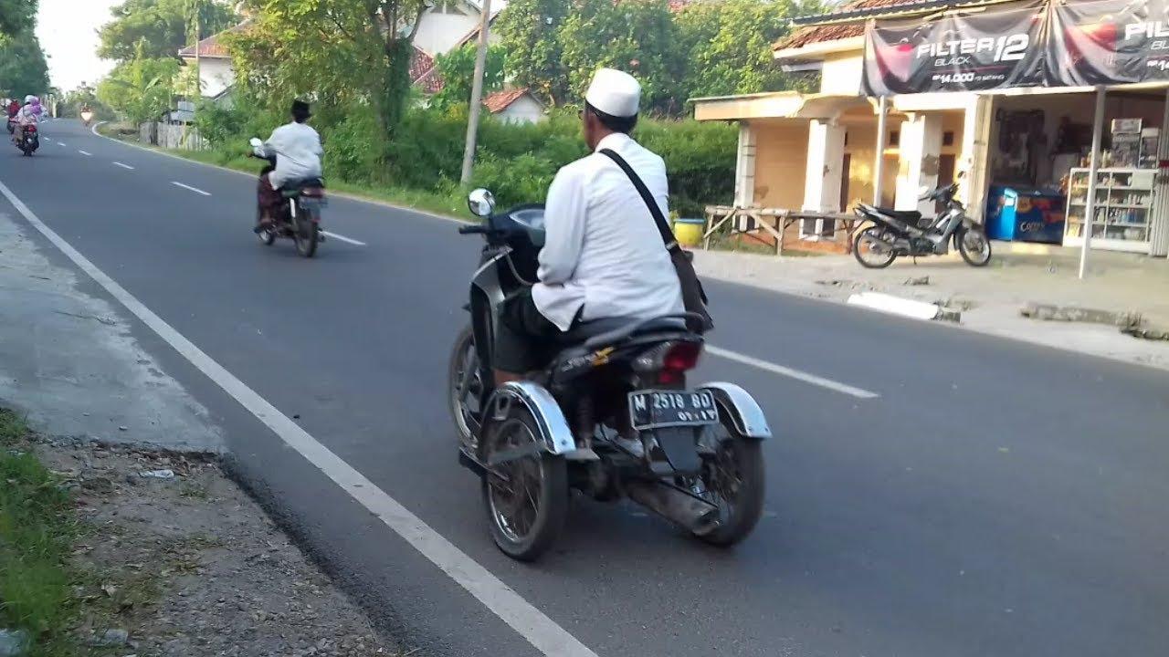 Cara Modifikasi Motor Roda Tiga Khusus Orang Kena Stroke Sebelah