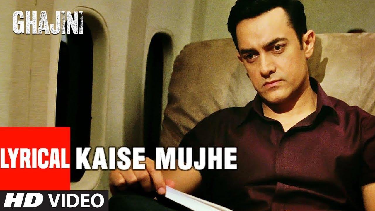 Download LYRICAL: Kaise Mujhe | Ghajini | Aamir Khan, Asin | Benny Dayal, Shreya Ghosal | A.R. Rahman