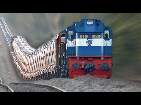 The Raising Trains ! Incredible GRADIENTS : Indian Railways