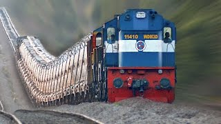 The Raising Trains ! Incredible GRADIENTS : Indian Railways thumbnail