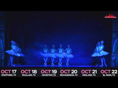 Dance of Little Swans by Russian Grand Ballet Texas Tour 2017