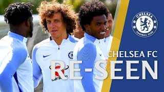 Impossible Goal Challenge Hat-Trick, Secret Handshakes & Hilarious Ball In Face | Chelsea Re-seen