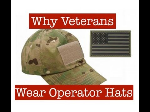 Why Veterans Wear Operator Hats