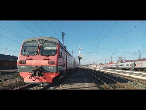 Поездка по участку Мичуринск-Уральский - Рязань
