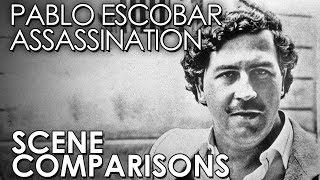 Pablo Escobar Assassination - scene comparisons